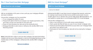 Mortgage promotions and special offers at BMO