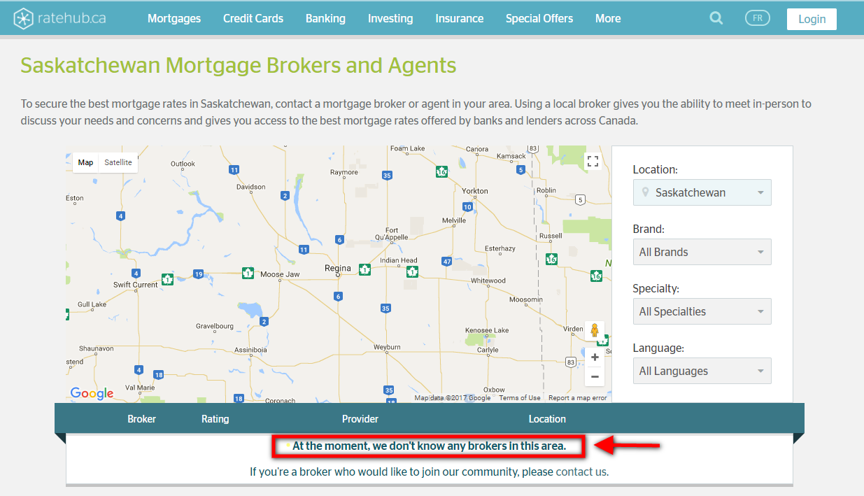 Saskatchewan Mortgage Brokers by Ratehub