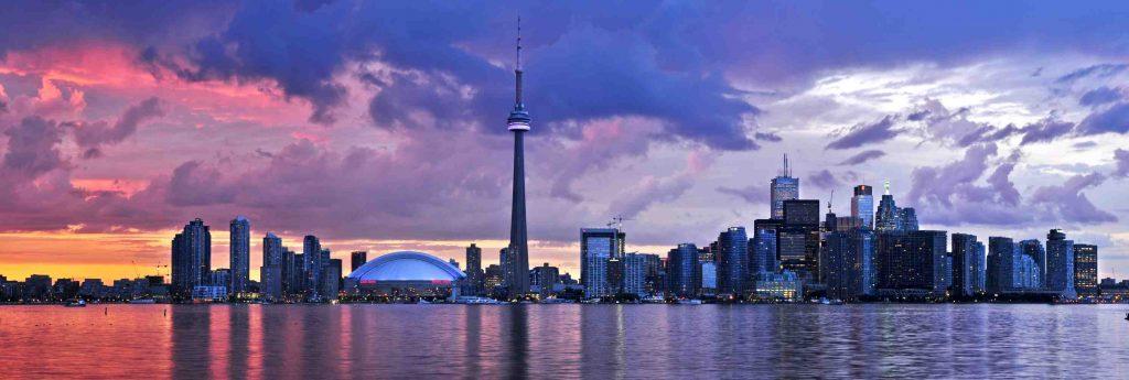 Skyline of Toronto, Ontario