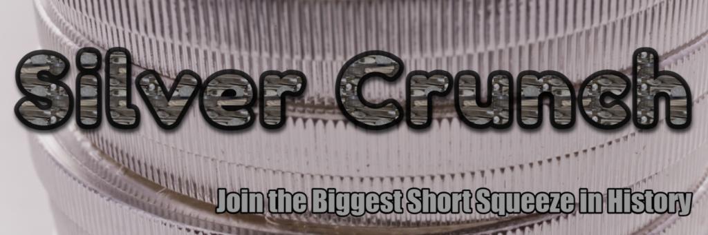 Silver Crunch Twitter background